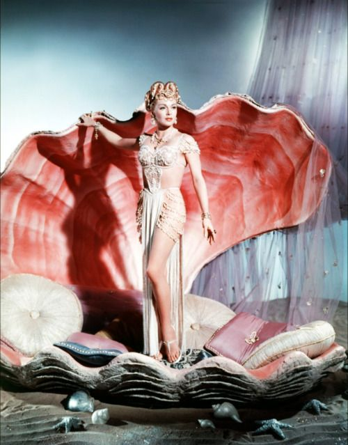 Lana Turner plays the pagan princess Samarra in The Prodigal, 1955..jpg