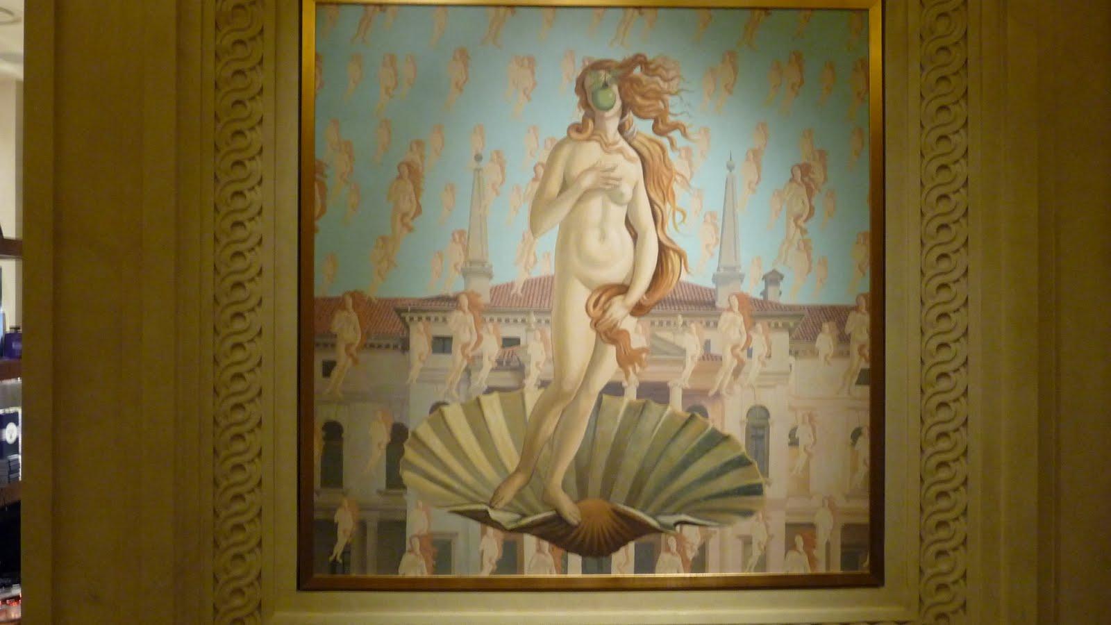 Пейте успокоительное: Венера Боттичелли в трактовках современных художников Caesar's Palace - Las Vegas 03.jpg