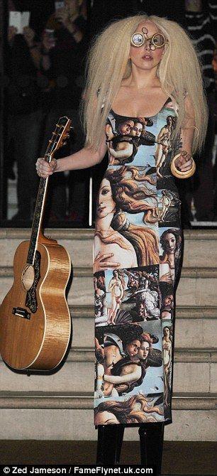 Пейте успокоительное: Венера Боттичелли в трактовках современных художников lady gaga.jpg