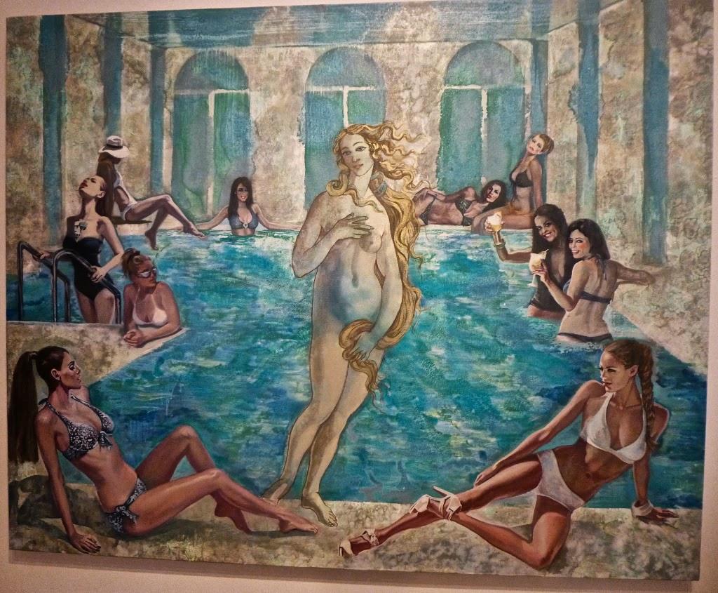 Пейте успокоительное: Венера Боттичелли в трактовках современных художников Nikolina Kovalenko.jpg