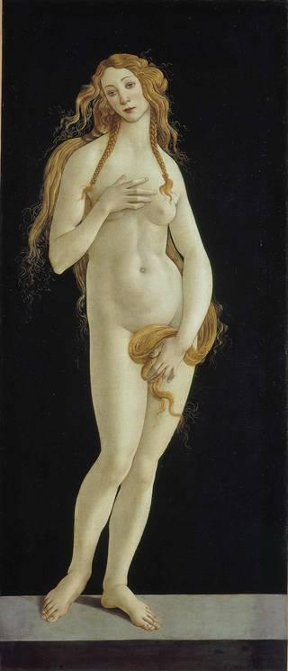 Venus, by Sandro Botticelli, about 1490. Gemäldegalerie Staatliche Museen zu Berlin Preußischer Kulturbesitz..jpg