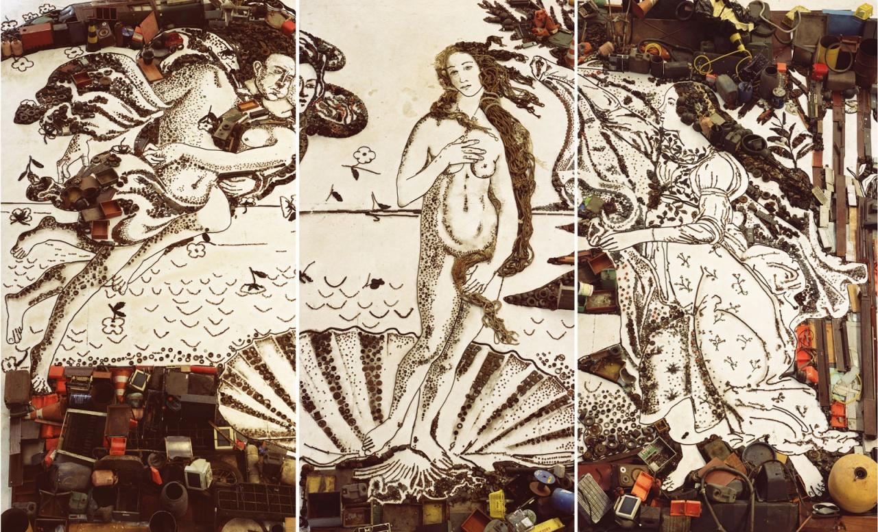 Пейте успокоительное: Венера Боттичелли в трактовках современных художников Vik Munik.jpg
