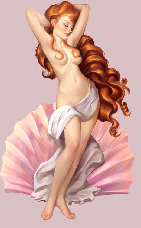 Пейте успокоительное: Венера Боттичелли в трактовках современных художников Will Murai.jpg