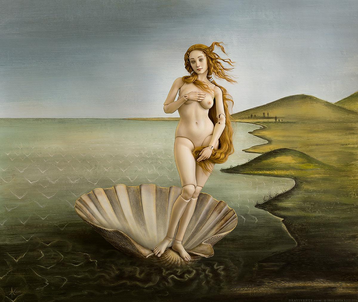 Пейте успокоительное: Венера Боттичелли в трактовках современных художников kaa-annaku_01.jpg