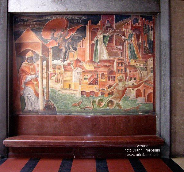 Verona - Pino Casarini - leggende veronesi - S.Zeno e il diavolo.jpg