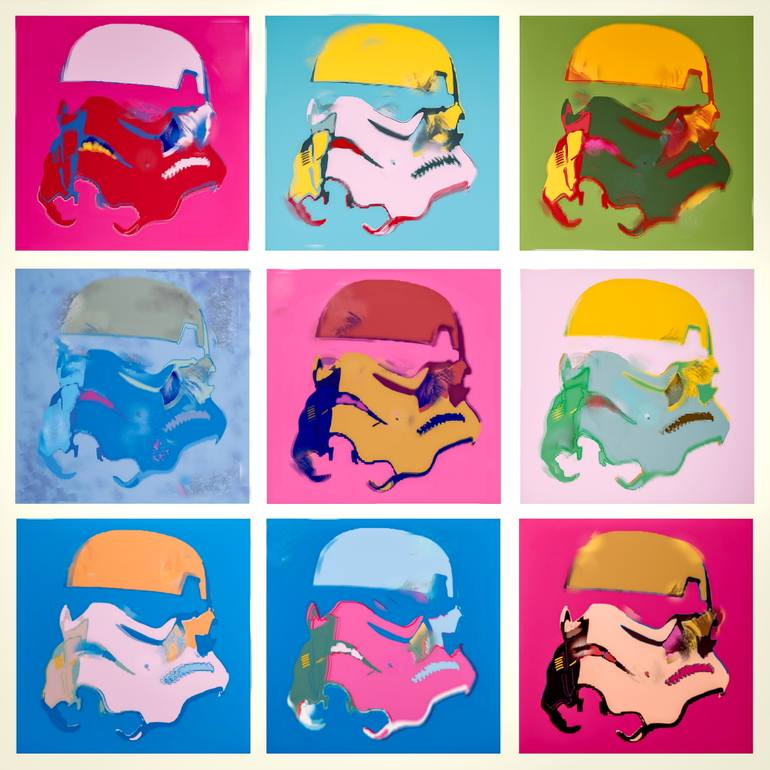 Tony Leone - Clones (as Warhol).JPG