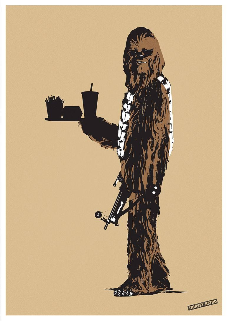 Thirsty Bstrd - Chewbacca Fast Food.jpg