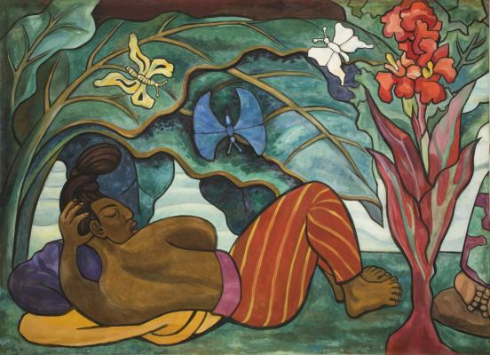 Diego Rivera, Juchitán River (Río Juchitán), 1953–1955.jpg