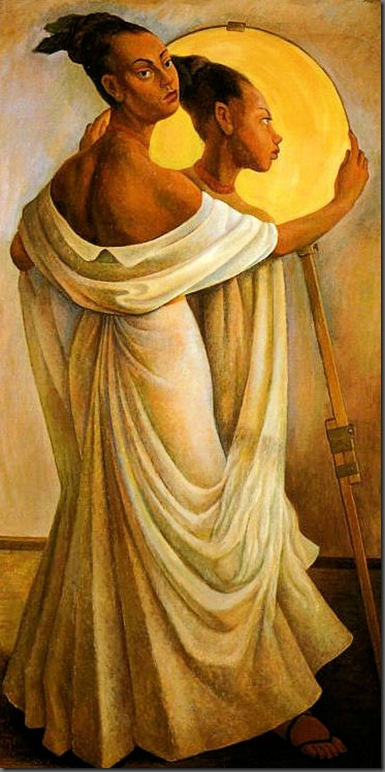 Diego Rivera, Retrato de Ruth Rivera, 1949.jpg