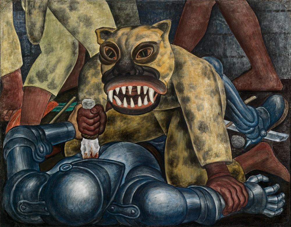 Indian Warrior, 1931 by Diego Rivera.jpg