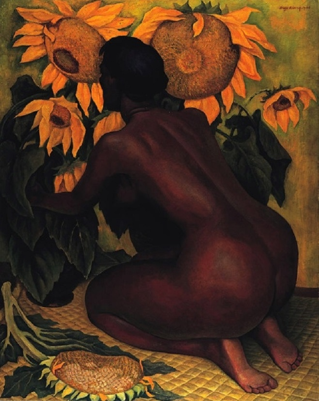 Sunflowers, 1921 by Diego Rivera.jpg