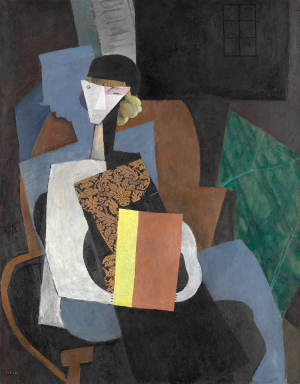 Portrait of Marevna, 1915 by Diego Rivera.jpg