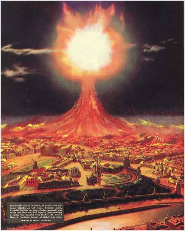 Collier's magazine October 27 1951 - Nuclear attack on Moscow.jpg