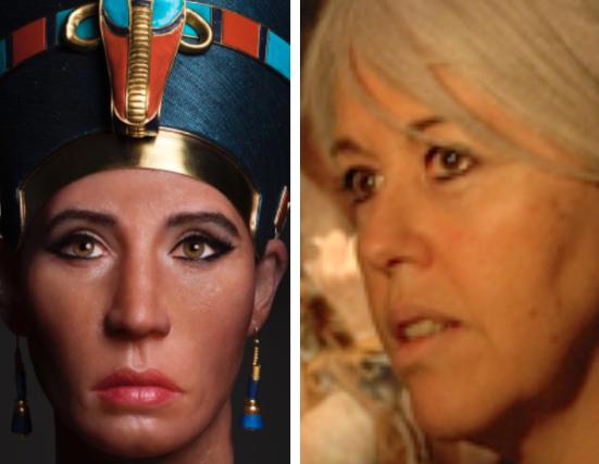 Скульпторша, которая впарила свой автопортрет журналистам как голову Нефертити queen-nef-1.png