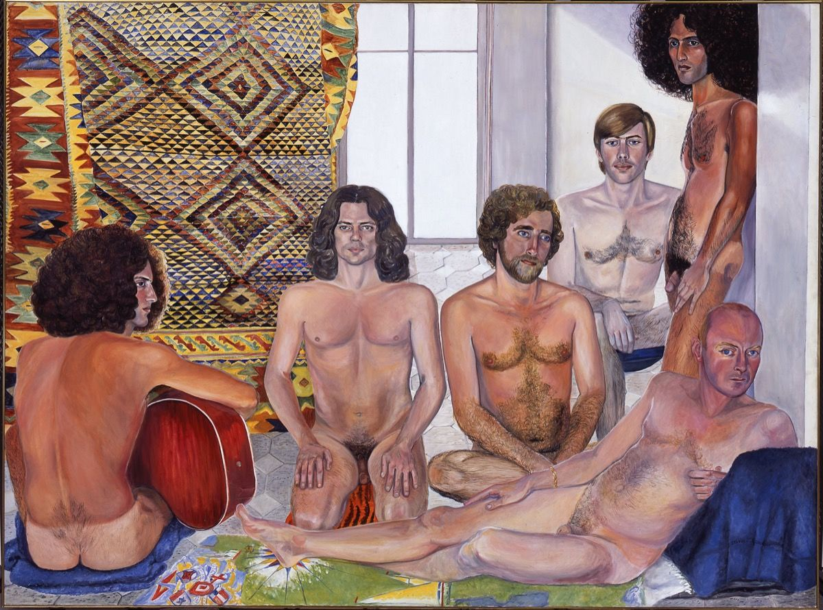 Sylvia Sleigh - The Turkish Bath, 1973.jpg