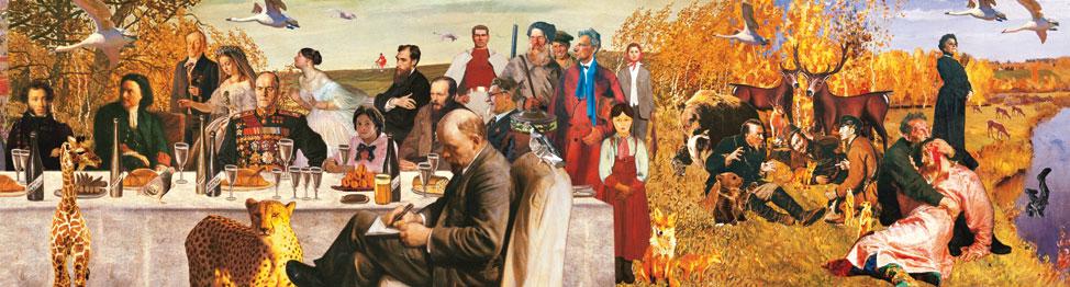 Виноградов-Дубосарский. Времена года русской живописи весна, лето, осень, зима (2007) 3.jpg