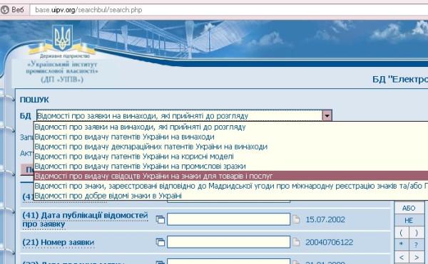 регистрация торговой марки в Украине самостоятельно
