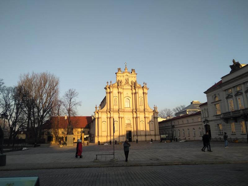 Костёл Святого Иосифа Обручника  в Краковском Предместье