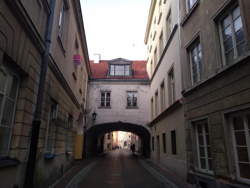 улица Козья - Kozia в центре Варшавы