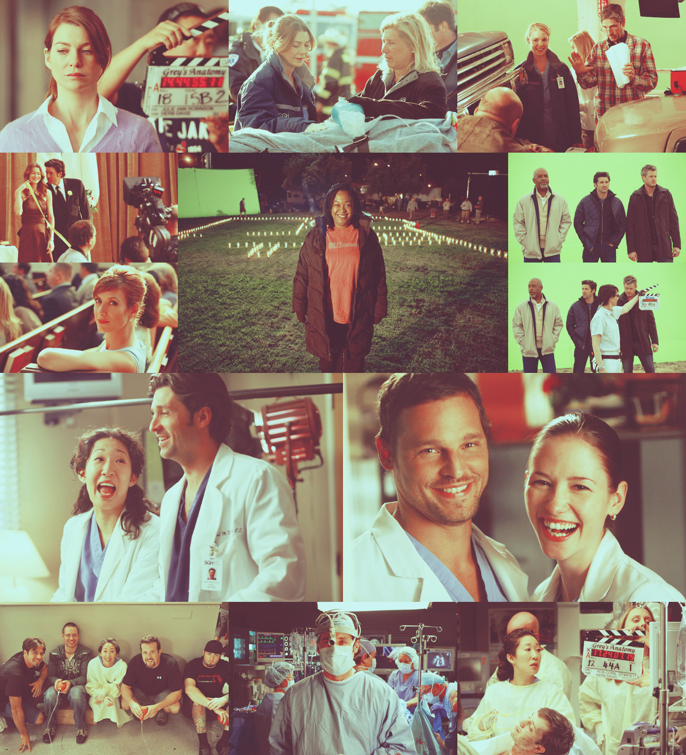 Grey\'s Anatomy: Behind The Scenes: applegrassicons