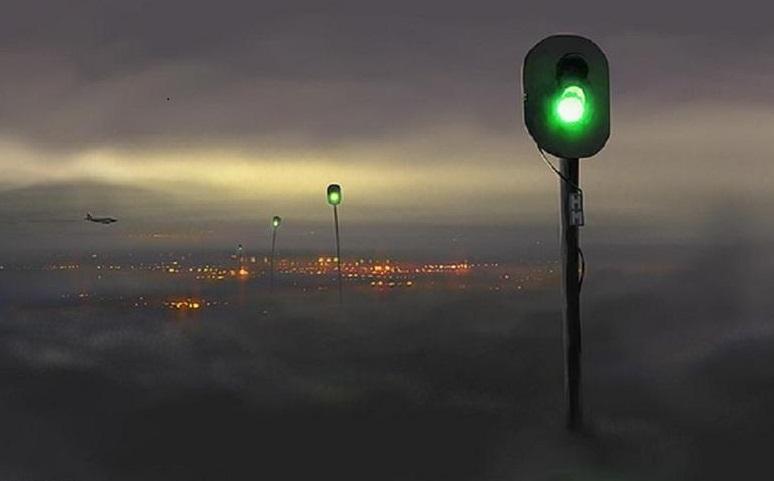 сюрреализм-песочница-туман-светофоры-104705