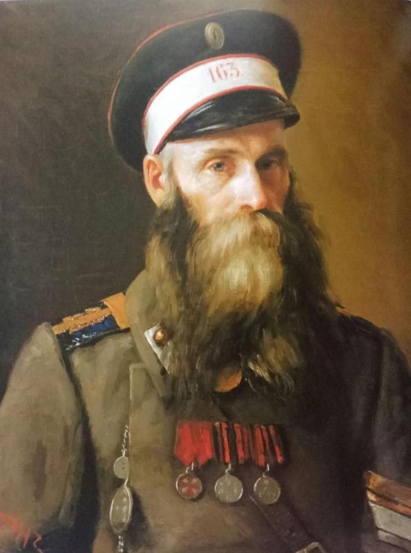 Кто он, еврейский солдат, изображенный на картине Юделя Пэна