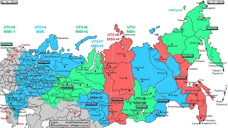 Какой регион россии первый встречает новый год в россии