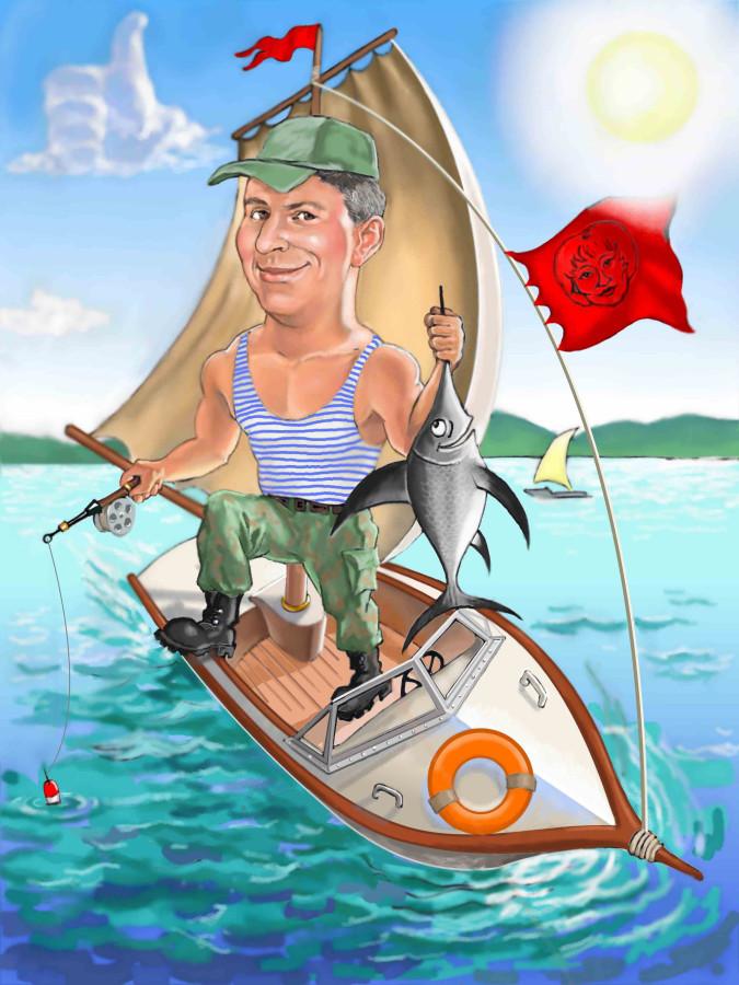 рыбак и студент