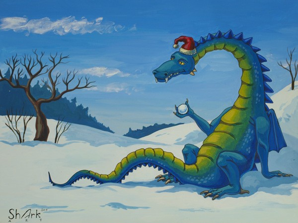 зимний дракон блог