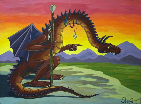 драконий шаман блог