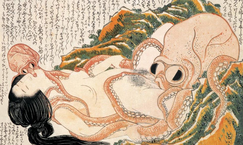 китайские эротические гравюры