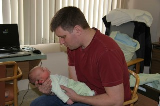 Stephen with Dad