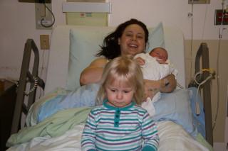 Stephen, Alexandra and Mom