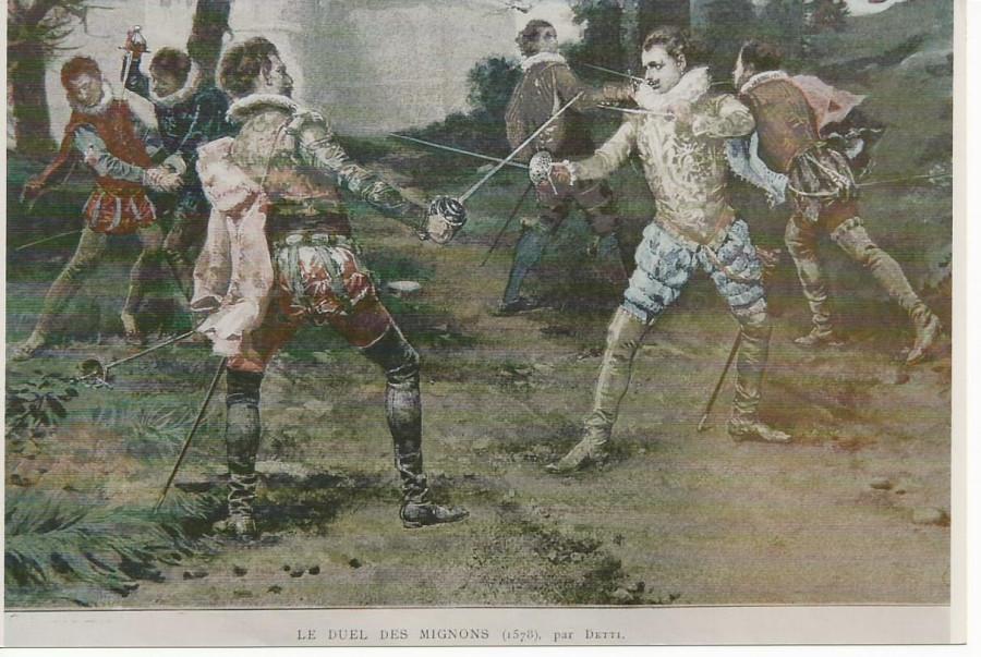 duel des Mignons 1585