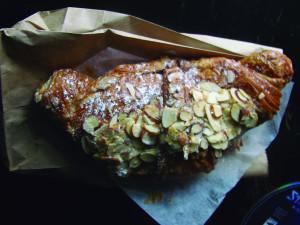 almond croissant De Laurenti