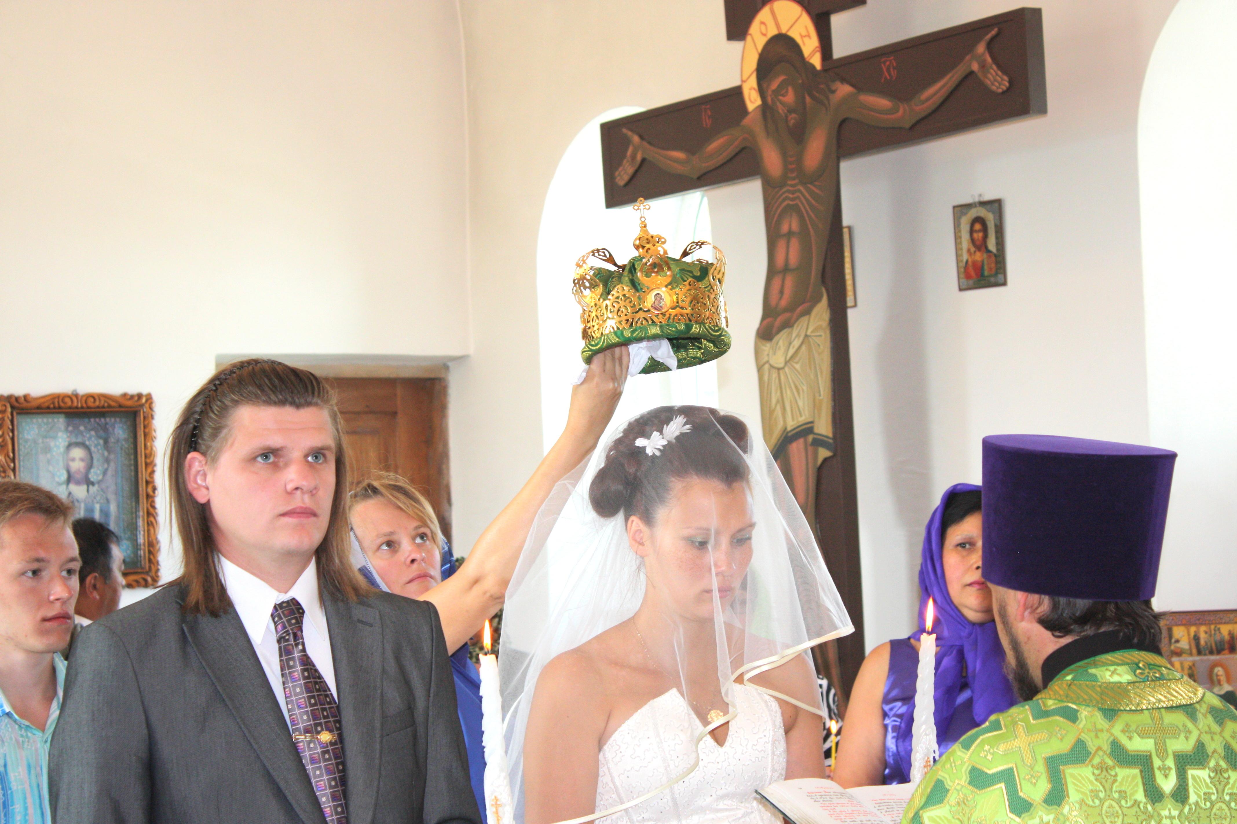 1.Венчание. Взгляды.