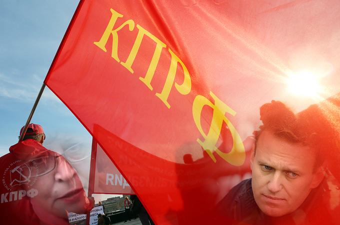 Коммунисты совсем перекрасились? Их друзья не только РПЦ, но и либералы?