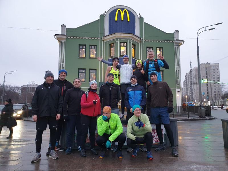 Финиш забега у Добрынинской