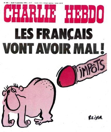 charlie hebdo - impots