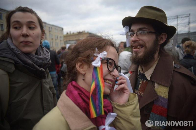Демонстранты
