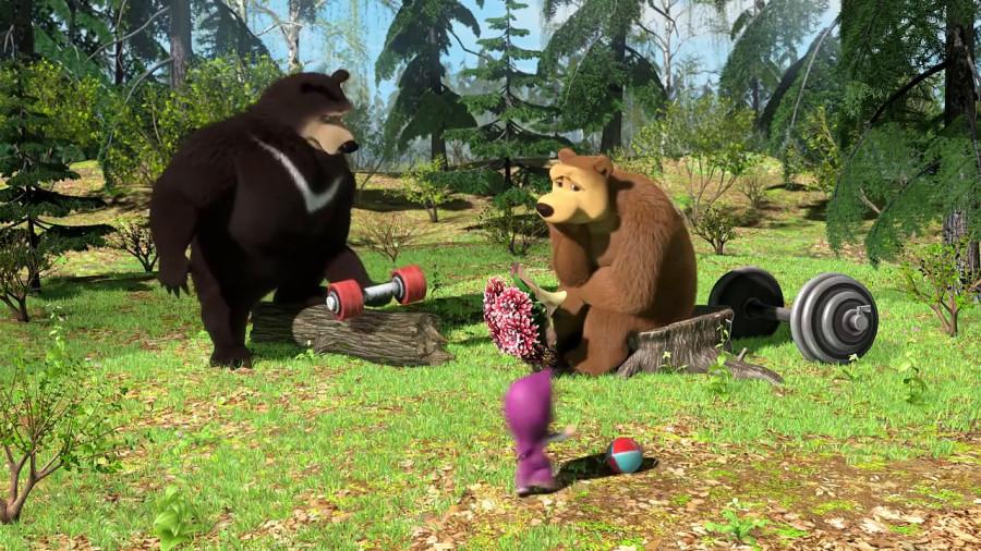 До чего не додумались ещё британские учёные или новый секрет Маши и медведя