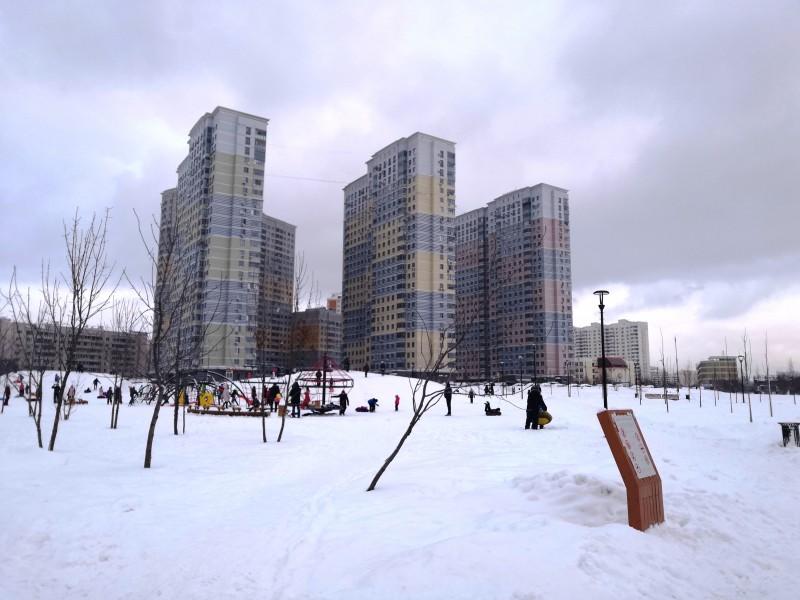 Пара отморозков в Южном Бутово испортили спортивный репортаж