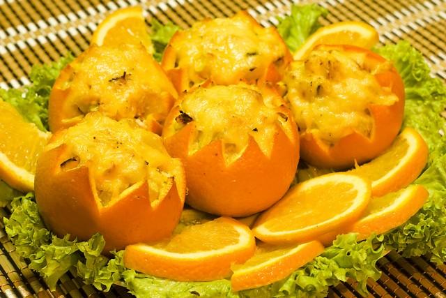 Фаршированные апельсины рецепт с фото