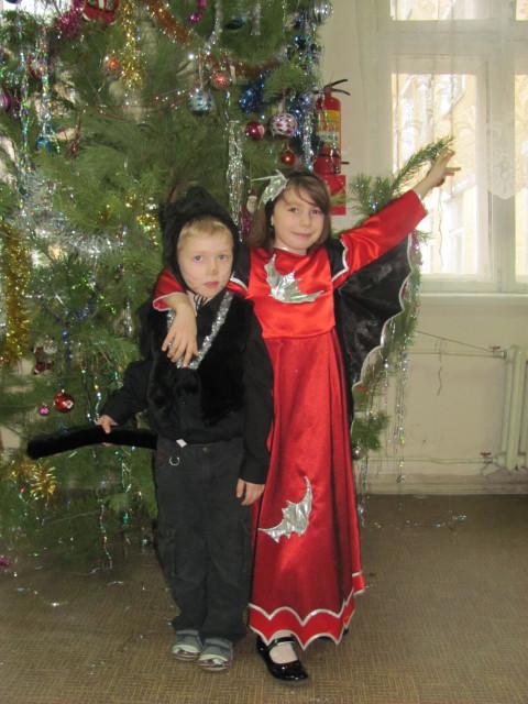Костюм дюймовочки новогодний