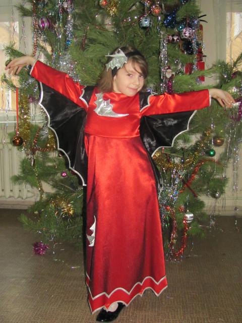 Новогодние костюмы своими руками дюймовочка