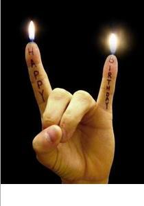 finger happy birthday
