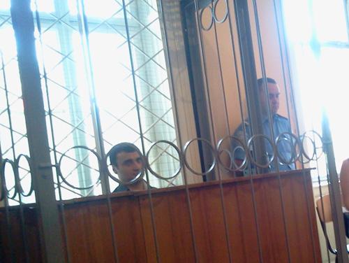Рустам Агаларов під вартою в суді