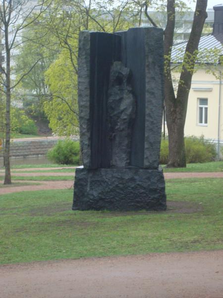 Турку. Памятник А.Арвидссону