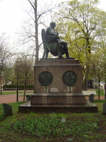 Турку. Памятник Портану (2)