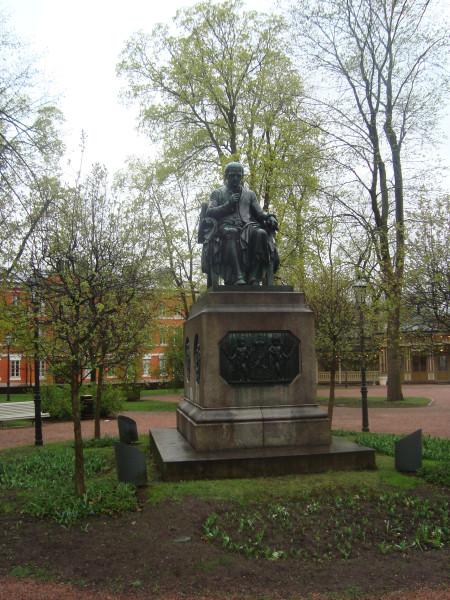Турку. Памятник Портану (3)